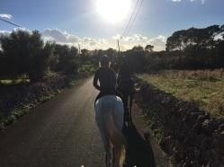 Trail Ride, Finca Son Menut, Mallorca