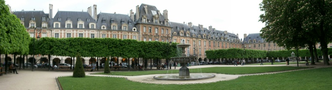Place Vosges, Paris
